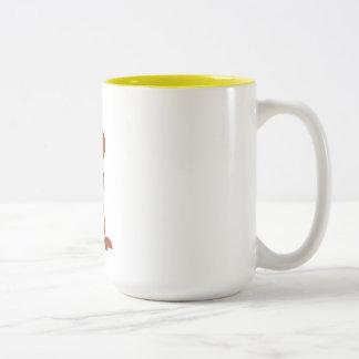 Caneca De Café Em Dois Tons Edward o copo de café do rato