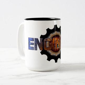 Caneca De Café Em Dois Tons Engenheiro