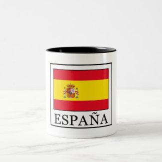 Caneca De Café Em Dois Tons España