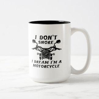Caneca De Café Em Dois Tons Eu não ressono