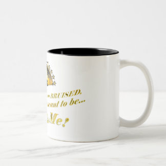 Caneca De Café Em Dois Tons Eu sou quem eu sou significado ser… este sou mim!