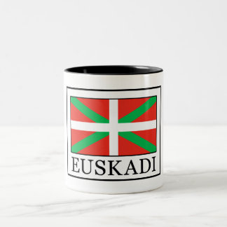 Caneca De Café Em Dois Tons Euskadi