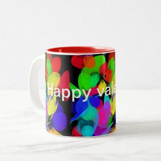 Caneca De Café Em Dois Tons 😃 feliz V