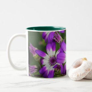 Caneca De Café Em Dois Tons Flower power - margarida