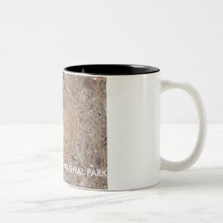 Caneca De Café Em Dois Tons GARGANTA GRANDE 2000 milhão anos há