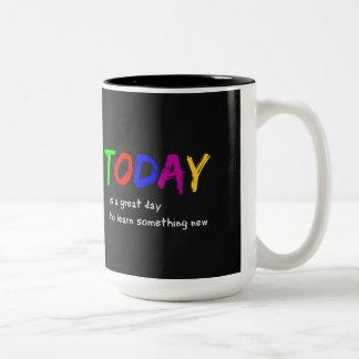 Caneca De Café Em Dois Tons Hoje