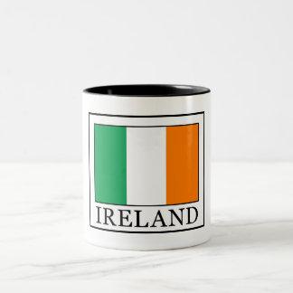 Caneca De Café Em Dois Tons Ireland