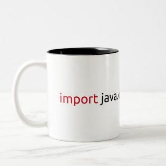 Caneca De Café Em Dois Tons Java Mug