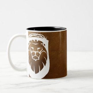 Caneca De Café Em Dois Tons Leão de Judah