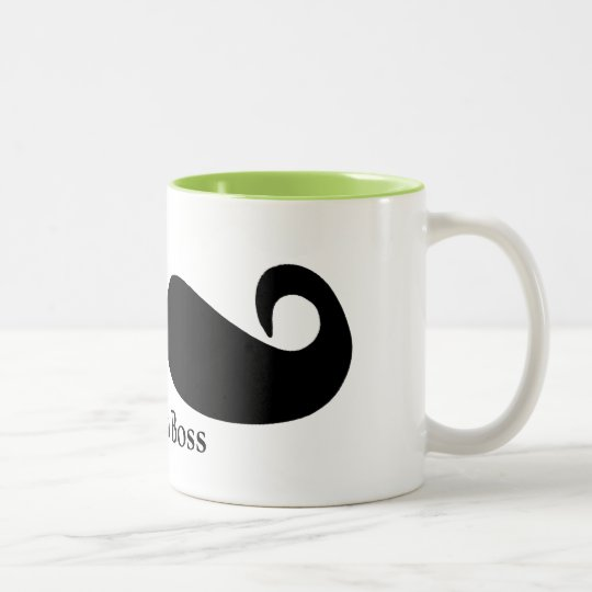 Caneca De Café Em Dois Tons Like a Boss Mug