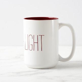 Caneca De Café Em Dois Tons Love&Light