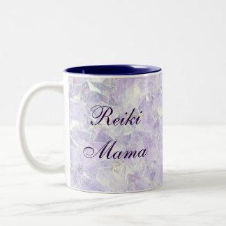 Caneca De Café Em Dois Tons Mama de Reiki