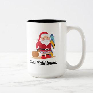 Caneca De Café Em Dois Tons Mele Kalikimaka