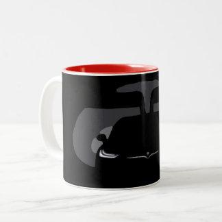 Caneca De Café Em Dois Tons MODELO X - Escuridão