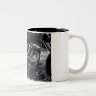 Caneca De Café Em Dois Tons Monte ou morra