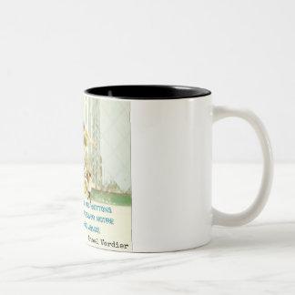 Caneca De Café Em Dois Tons Mug para autor: a arte é…