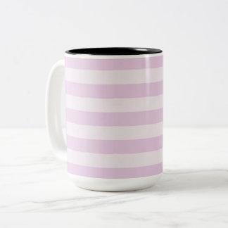 Caneca De Café Em Dois Tons Na moda-Lavanda-Listra-Multi-Estilo