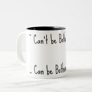Caneca De Café Em Dois Tons Não me incomode