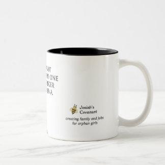 Caneca De Café Em Dois Tons Não somente pandas