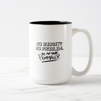 Caneca De Café Em Dois Tons Nenhum orçamento? Nenhum problema Dois-Tonificou a
