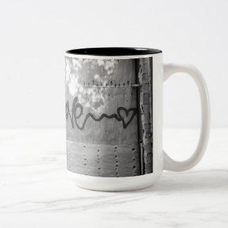 Caneca De Café Em Dois Tons O amor é amor