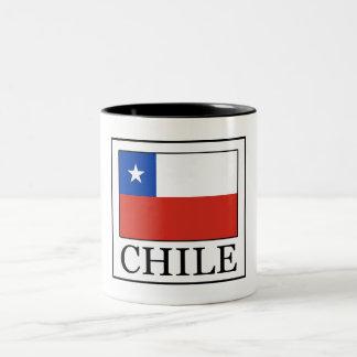 Caneca De Café Em Dois Tons O Chile