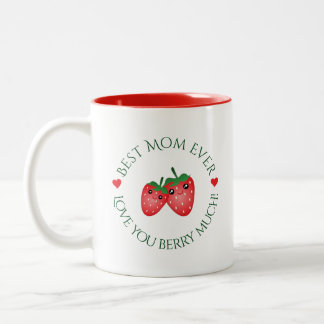 Caneca De Café Em Dois Tons O melhor amor do dia das mães da mamã nunca você