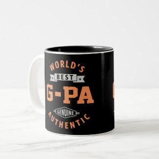 Caneca De Café Em Dois Tons O melhor G-Pa do mundo