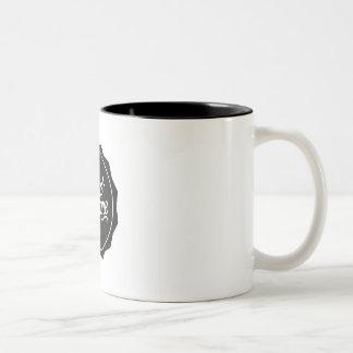 Caneca De Café Em Dois Tons o mug sc preto