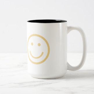 Caneca De Café Em Dois Tons O sorriso, sua ordem de SONO é atualmente para