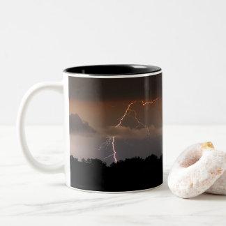 Caneca De Café Em Dois Tons Obtenha o Lit acima com seu café da manhã