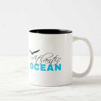 Caneca De Café Em Dois Tons Oceano Atlântico