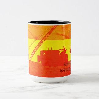 Caneca De Café Em Dois Tons Orgulhoso ser cores de um sudoeste do engenheiro