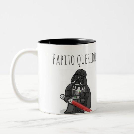 Caneca De Café Em Dois Tons Papito querido