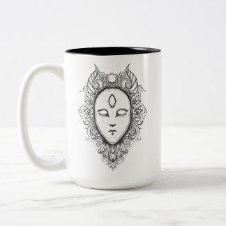 Caneca De Café Em Dois Tons Porcelana Oracle