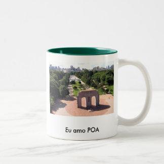 Caneca De Café Em Dois Tons Porto Alegre