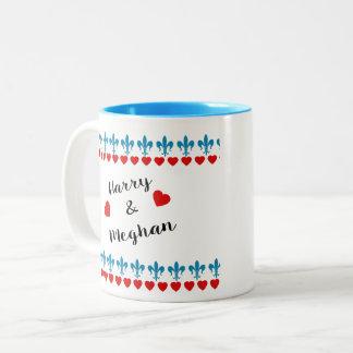 Caneca De Café Em Dois Tons Quando Harry encontrou Meghan