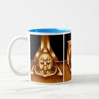 Caneca De Café Em Dois Tons Que se? Triptych. egípcio do conquistador