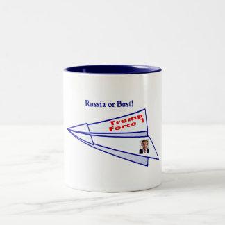 Caneca De Café Em Dois Tons Rebentado!