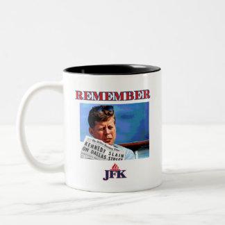 CANECA DE CAFÉ EM DOIS TONS RECORDE JFK