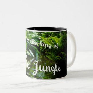 Caneca De Café Em Dois Tons Rei da selva
