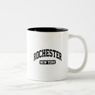 Caneca De Café Em Dois Tons Rochester New York