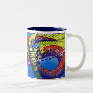 Caneca De Café Em Dois Tons Senhor de Atlantis