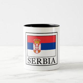 Caneca De Café Em Dois Tons Serbia