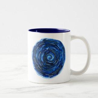 Caneca De Café Em Dois Tons trabalhos de arte curas #2 de Chakra do olho