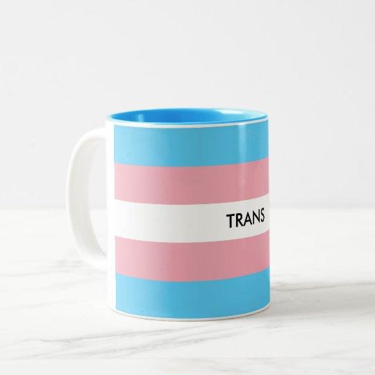 Caneca De Café Em Dois Tons Trans