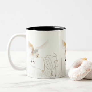 Caneca De Café Em Dois Tons Travado