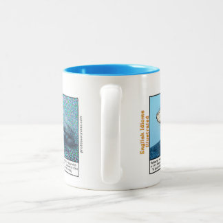 Caneca De Café Em Dois Tons Uma baleia de um momento
