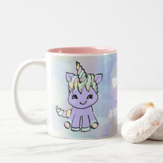Caneca De Café Em Dois Tons Unicorn