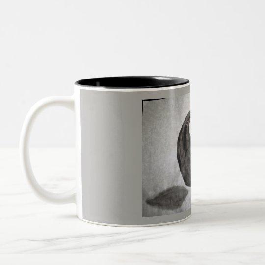 Caneca De Café Em Dois Tons Yin Yang